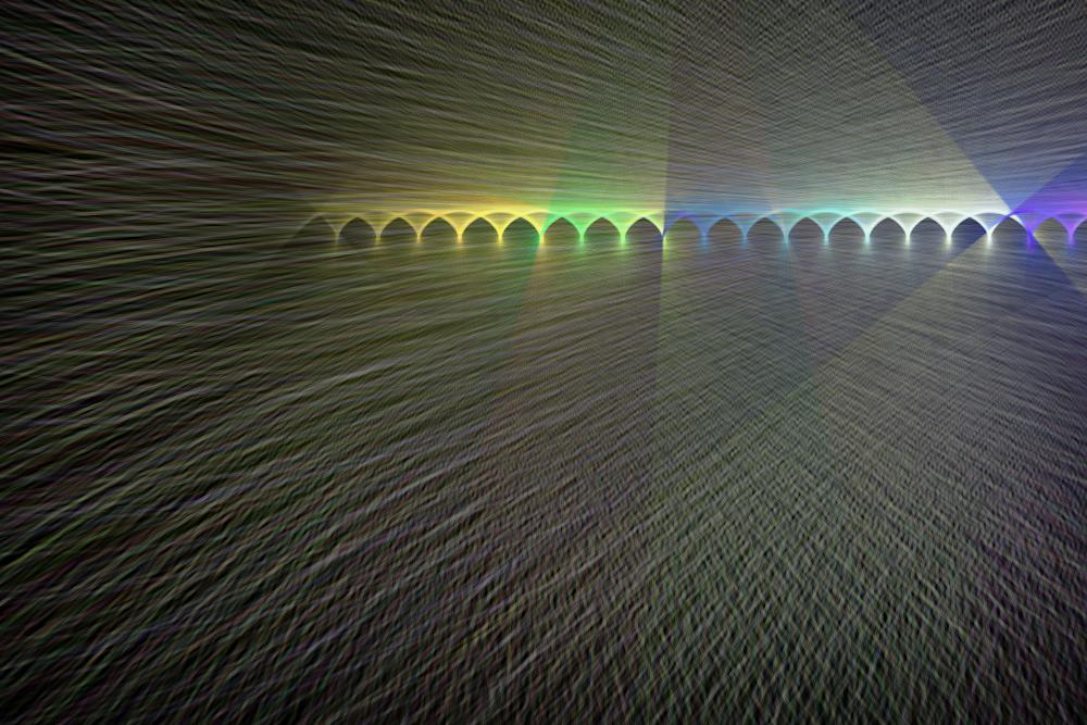 The Bazaar Chromatic Art | Between Art and Science