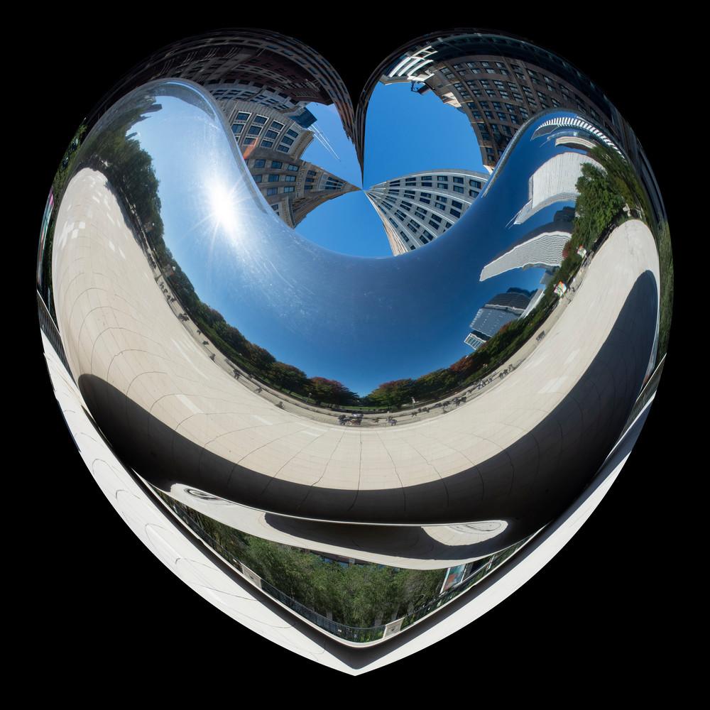 Reflective Heart/Merch Art   karenihirsch