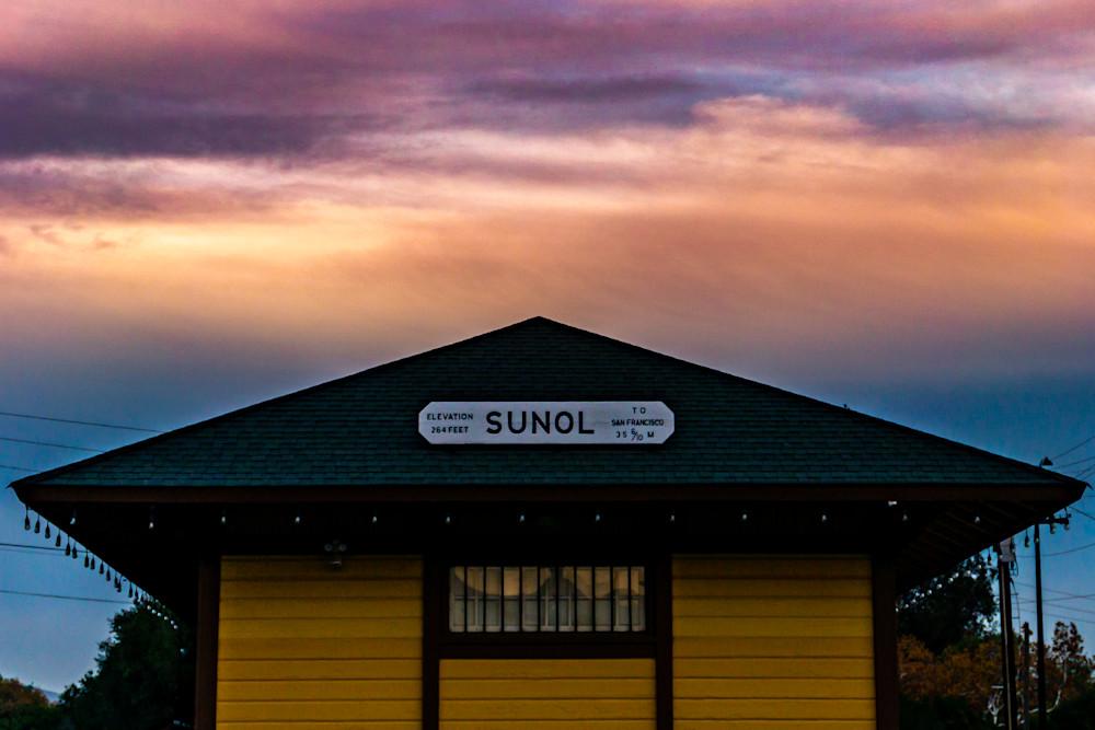 Sunol Station Photography Art | Ron Olcott Photography