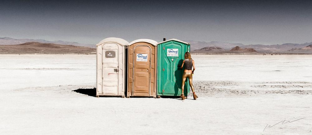 Playa Pit Stop Photography Art   Harry John Kerker Photo Artist
