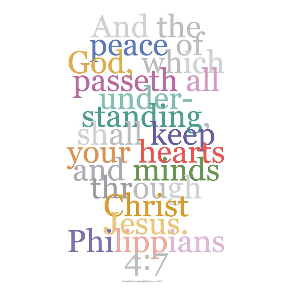 Philippians 4:7 Faith Decor