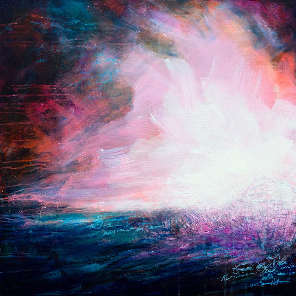 When Grace Captured Her Heart Art | Jessica Hughes Fine Art