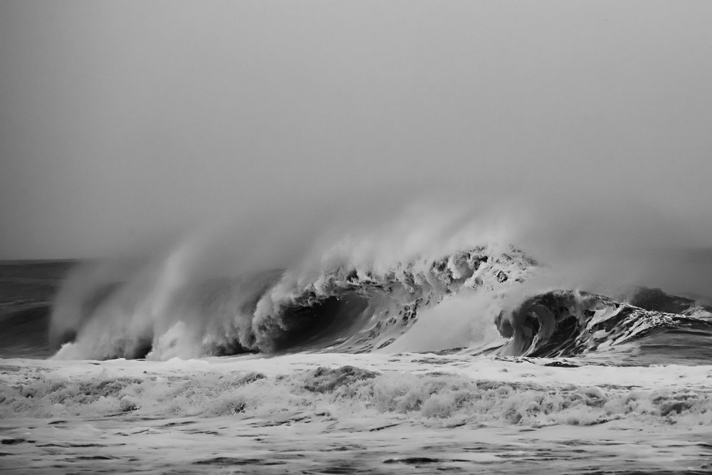 Nor'easter Photography Art | Silver Sun Photography