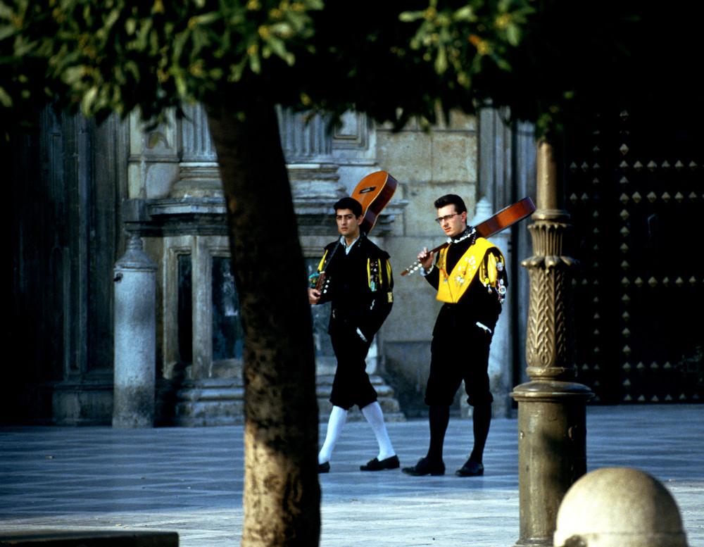 Barcelona, Spanish Street Musicians