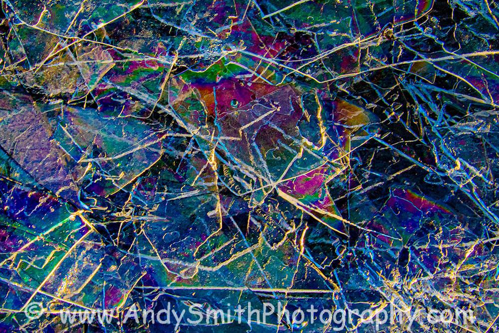rainbow ice patterns