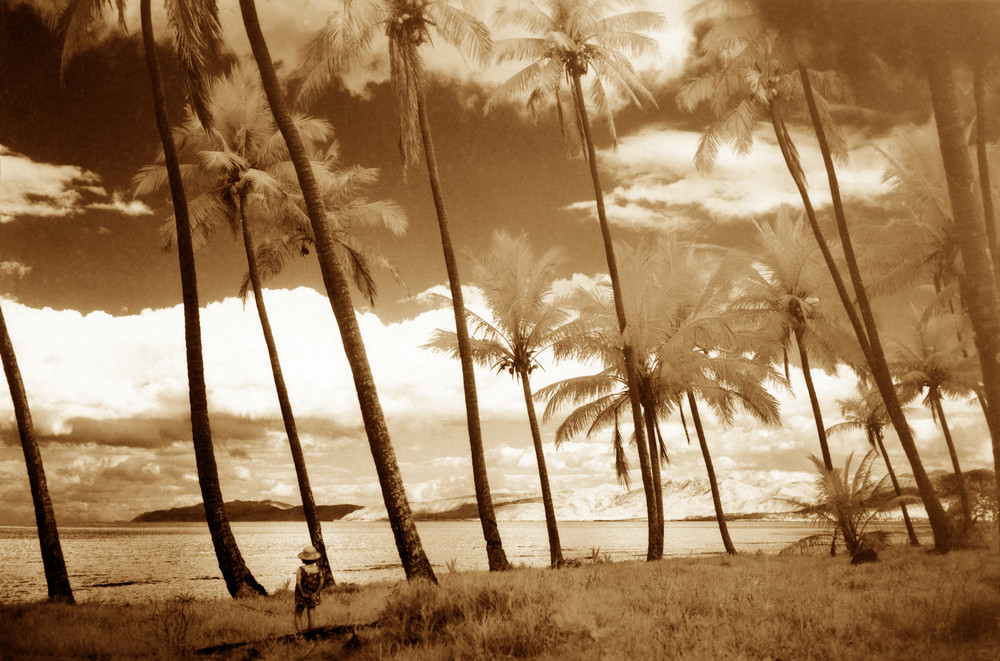 Island Child (Sepia) Photography Art | Christopher Grey Studios