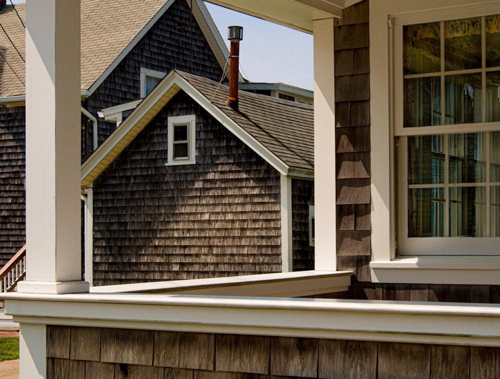 Through A Porch, Falmouth Photography Art | Ben Asen Photography