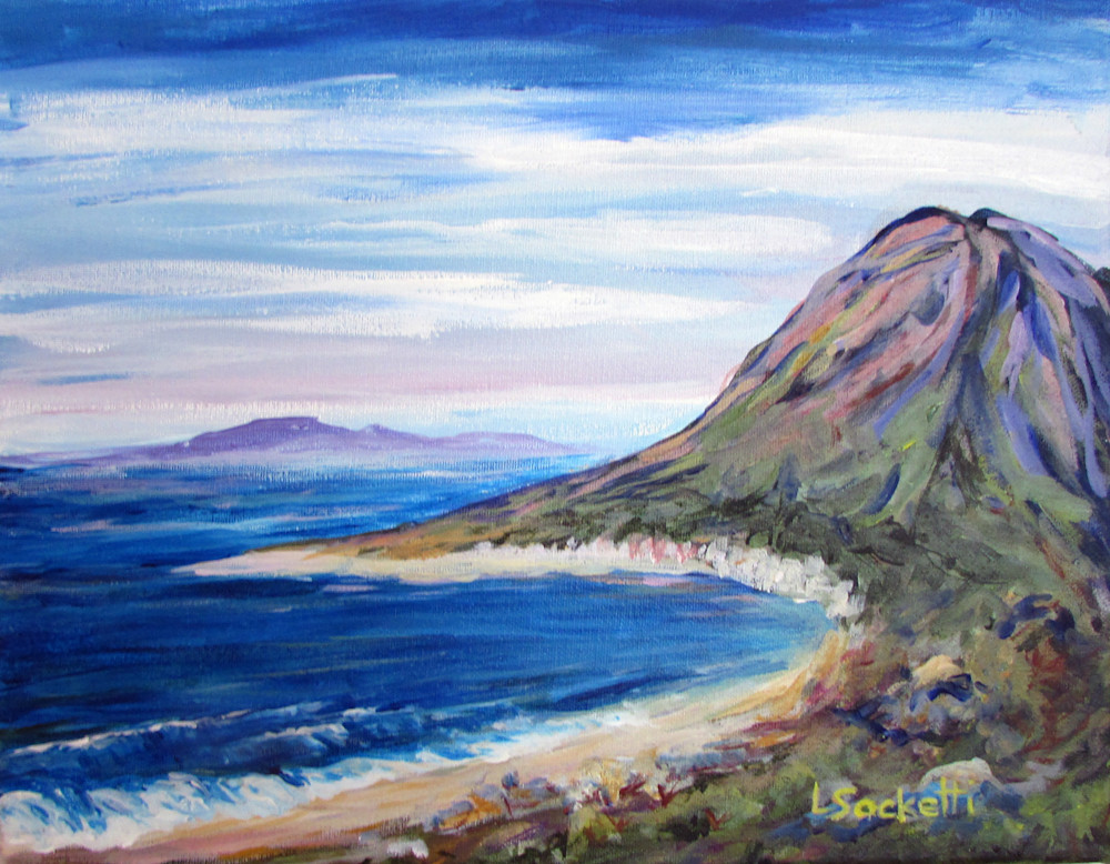 From The Mountains To The Sea Art | Linda Sacketti