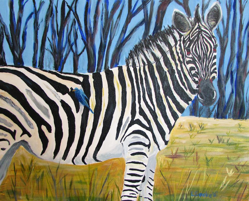 Hitching A Ride Art   Linda Sacketti