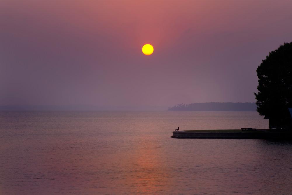 The Setting Sun, Lake Livingston, Texas Photography Art   Rick Gardner Photography