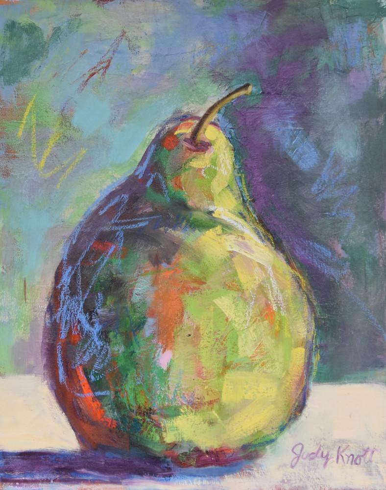 One Single Pear Art | KnottJust Art