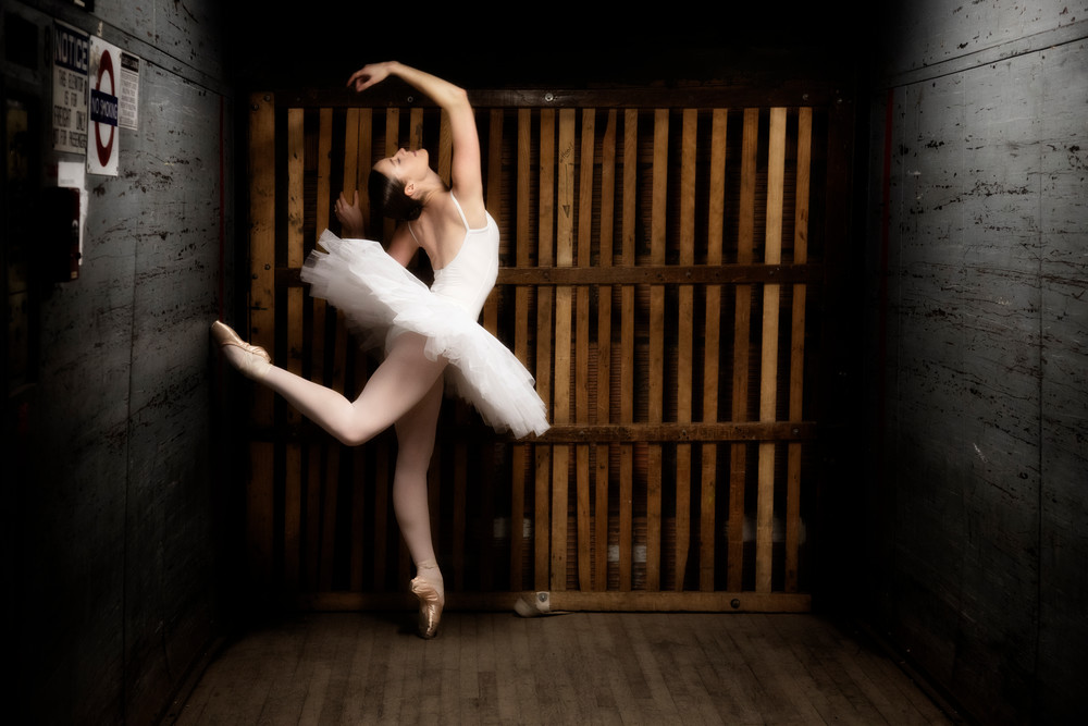 Elevator Dance Photography Art | Christopher Grey Studios