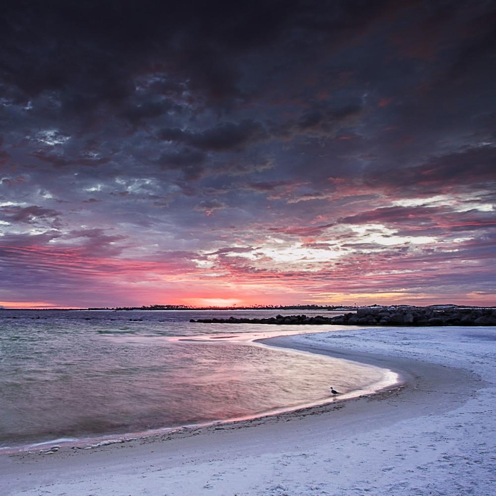 Gulf Sunrise Photography Art | Silver Sun Photography
