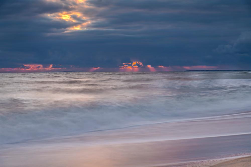 Long Point Long Exposure Sun Beams Art | Michael Blanchard Inspirational Photography - Crossroads Gallery