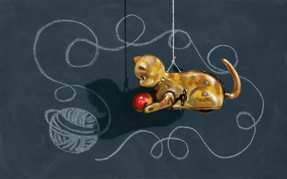 Cat's Cradle Art   Richard Hall Fine Art