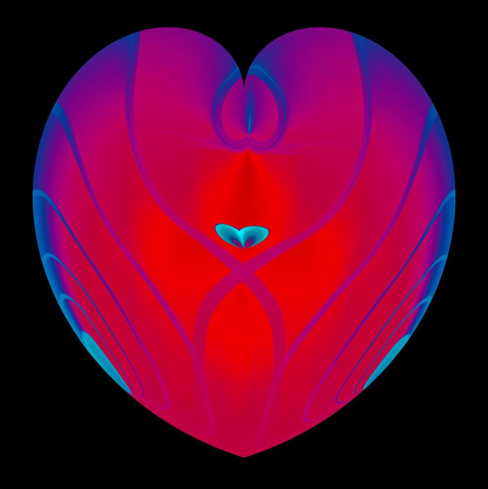 Heart In Heart/Merch Art | karenihirsch