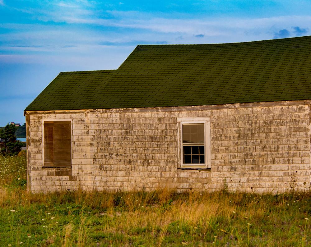 Abandoned Garage, Truro Photography Art | Ben Asen Photography