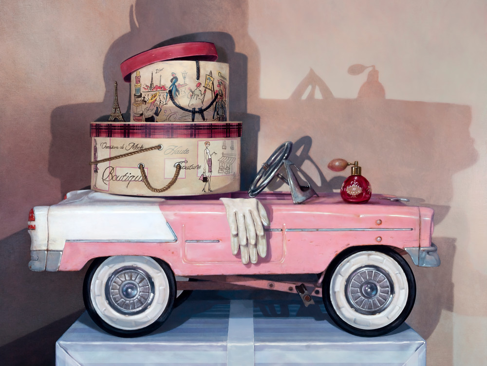 Retail Therapy Art | Richard Hall Fine Art