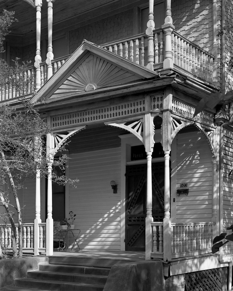 F. W. Scheurenberg House, 1895, Brenham, Texas Photography Art | Rick Gardner Photography