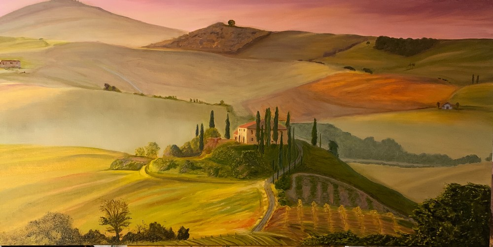 Tuscany Afternoon Art | Scott Dyer Fine Art