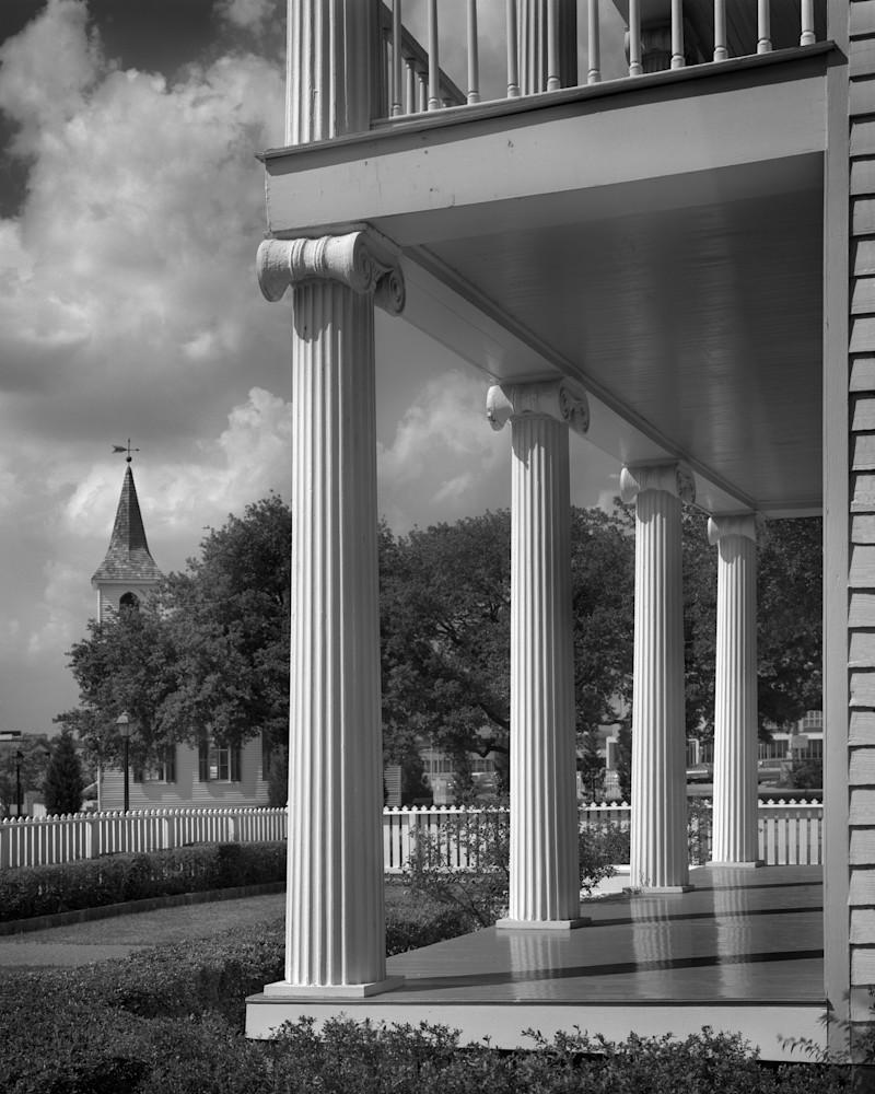 Nicholas/Rice/Cherry House, 1850, Houston, Texas Photography Art | Rick Gardner Photography