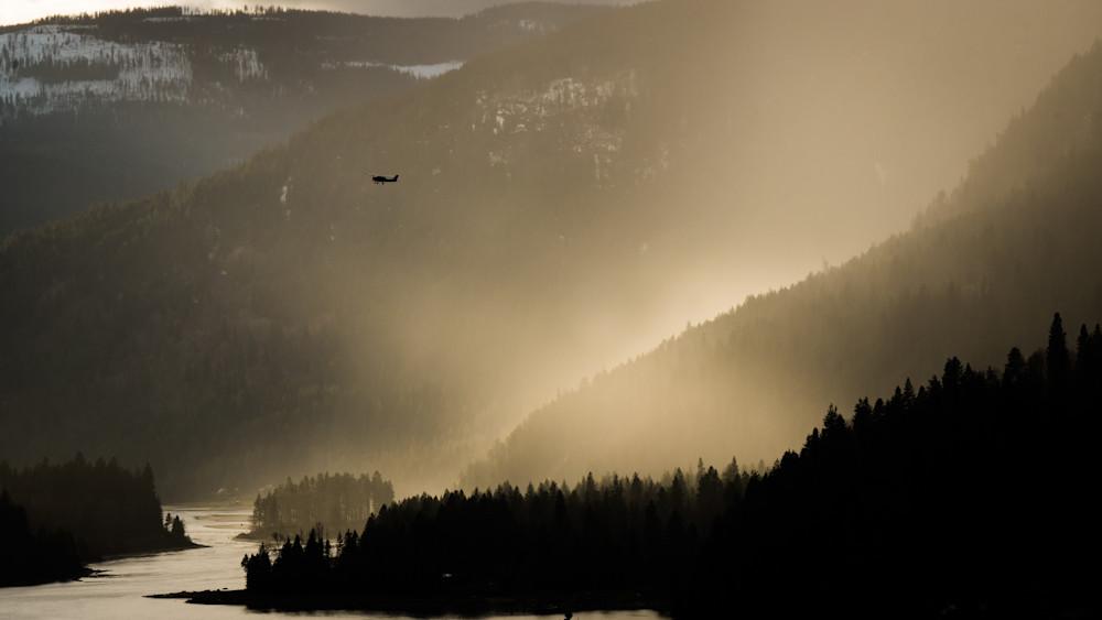 Tom Weager Photography - Sunset Flight