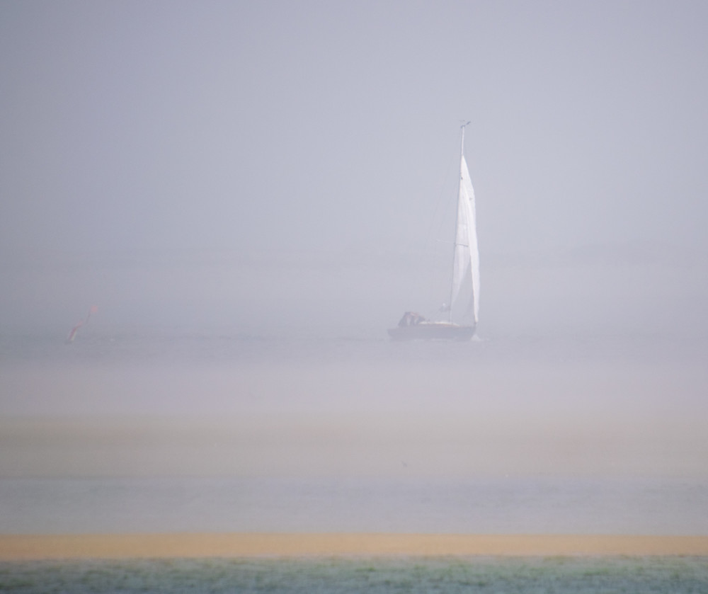 Foggy Boat Photography Art | The Colors of Chatham