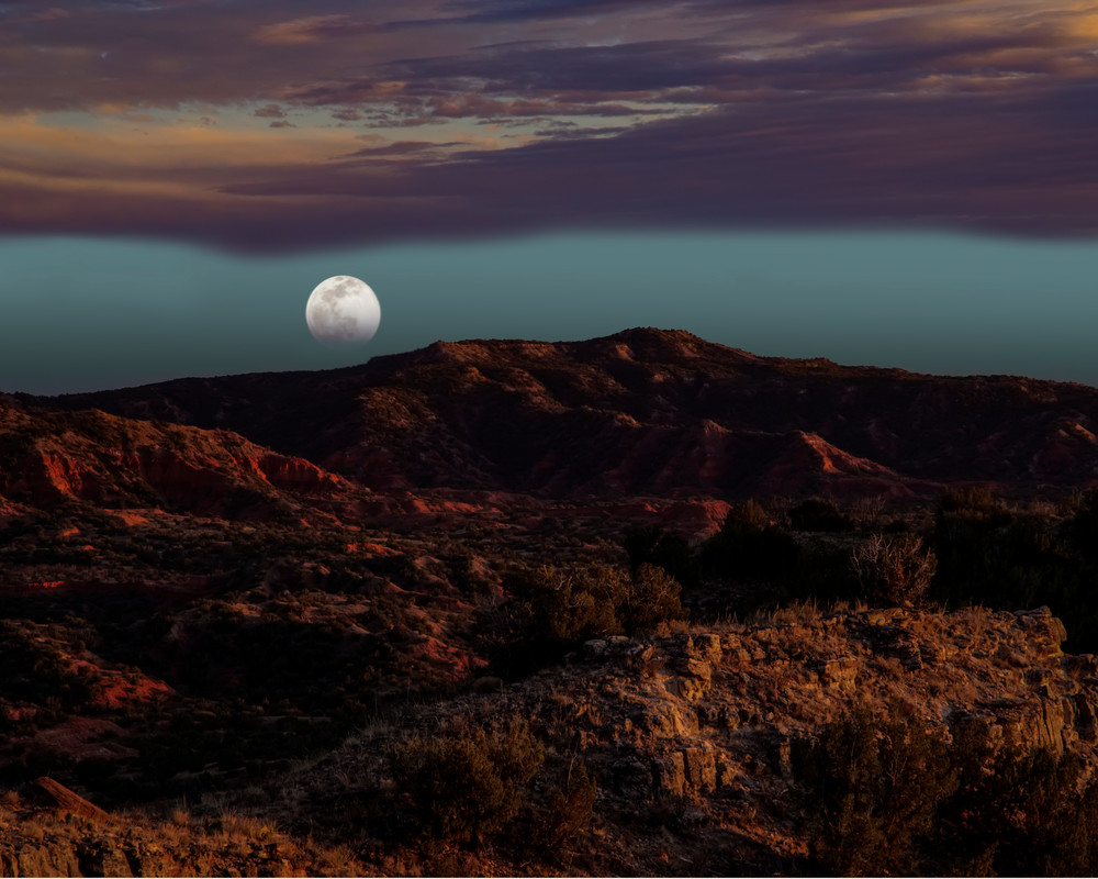 Wolf Moon Rising Art | Jim Livingston Art