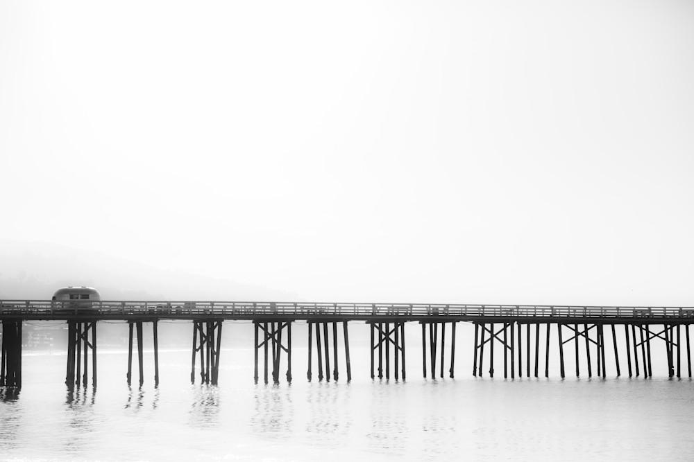 Malibu pier photo, Ocean Print, Pier Print, Ocean Photography, Beach Wall Art, Malibu California, California Photo, foggy pier