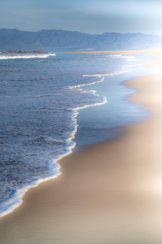 ocean, Santa Monica beach, california