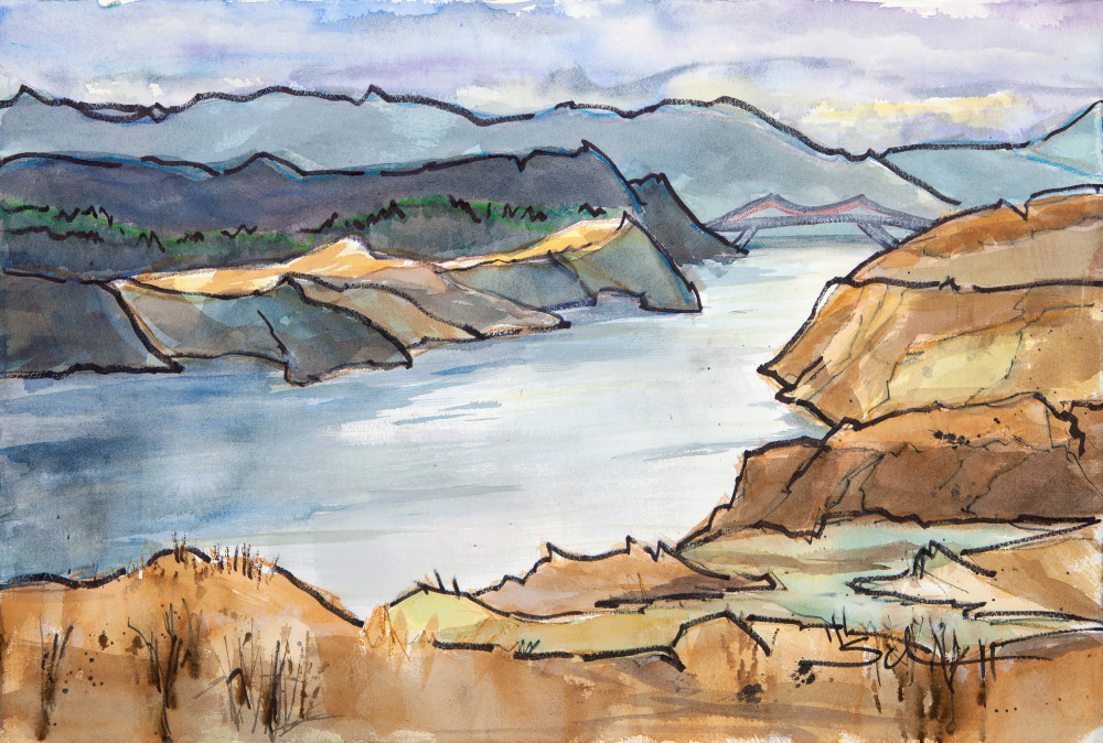 The Narrows Art | Elaine Schaefer Hudson Art