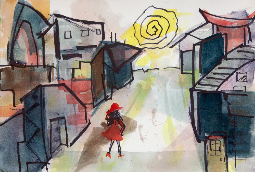 Alone Art   Elaine Schaefer Hudson Art