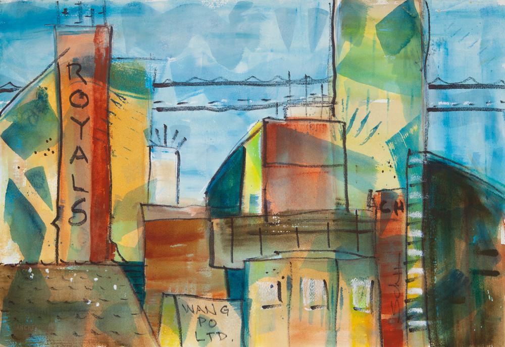 Wang Po Ltd Art   Elaine Schaefer Hudson Art