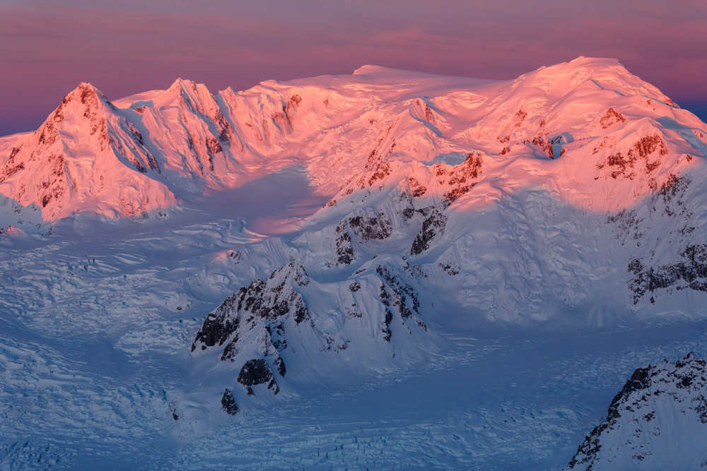 Spring landscape aerial photo of Tordillo Mountains, a part of the Alaska Range.  June 2017  Photo by Jeff Schultz/SchultzPhoto.com  (C) 2017  ALL RIGHTS RESERVED