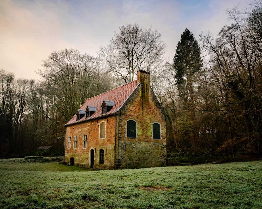 Le Chateau de Trois Fontaines, Belgium, 2019
