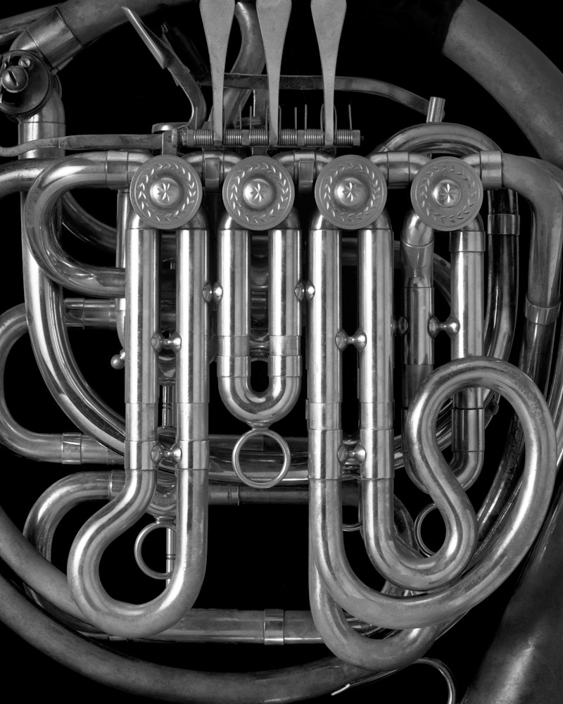 French Horn Photography Art | Rick Gardner Photography