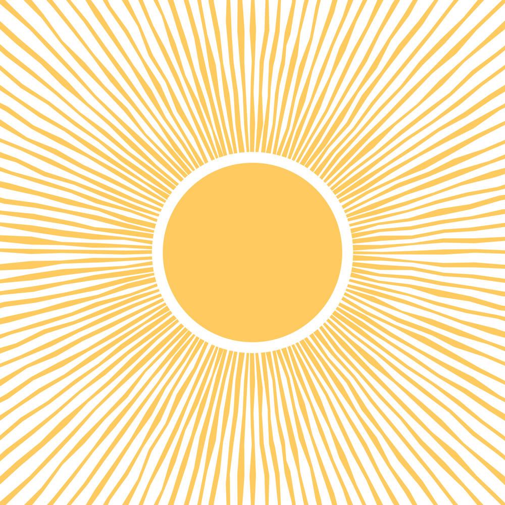 Sun Rays Square