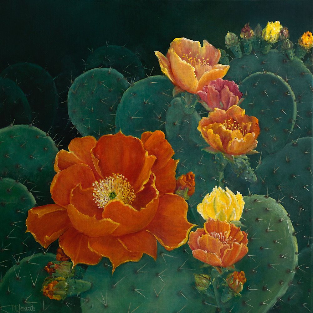 Pretty But Prickly Art | Marsha Clements Art