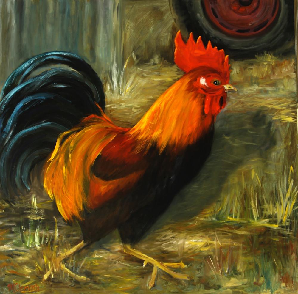 Cock Of The Walk Art   Marsha Clements Art