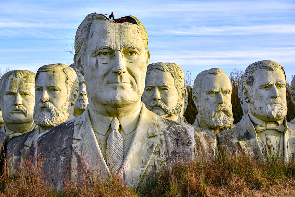 Field Of Presidents Photography Art | draphotography
