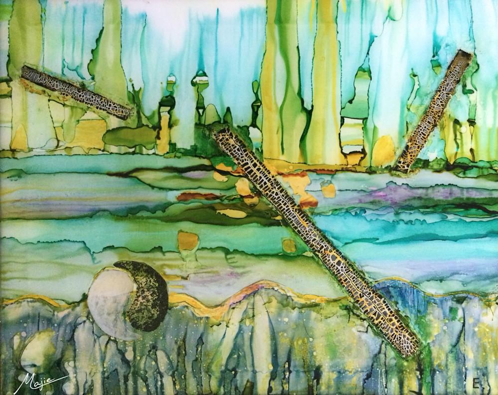 Drifting Into Wholeness  Art   Maitri Studio