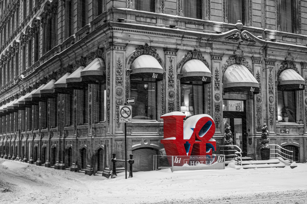 Old Montreal Love - Prints
