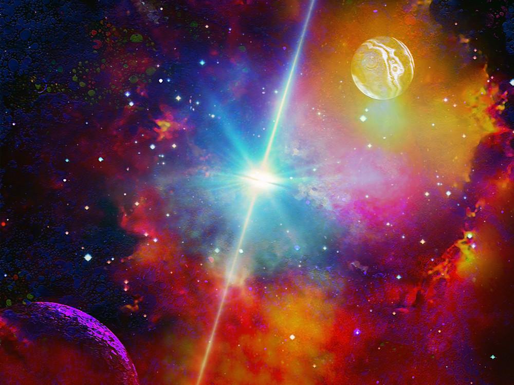 The Brightest Galaxy Art | Don White-Art Dreamer