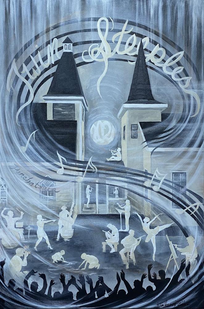Twin Steeples Creative Arts Center Prints & Merch Art | theartstationllc