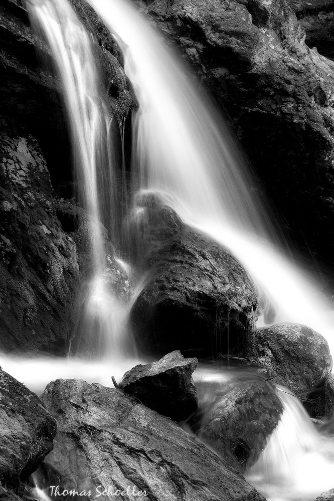 Interior designs with B&W | Ethereal fine art intimate landscape waterfall art prints for sale