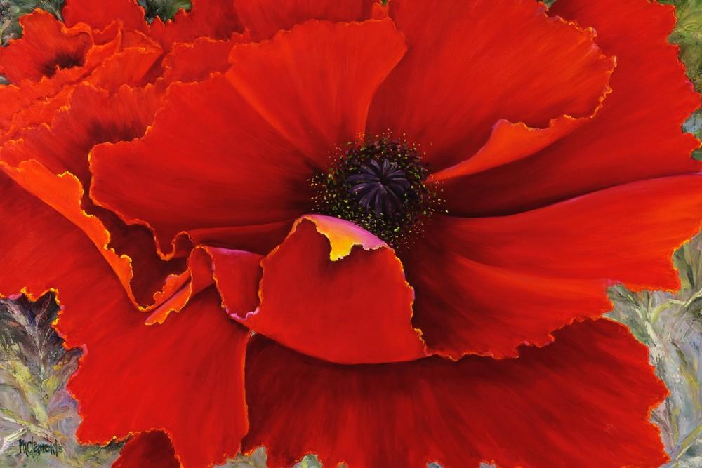 Poppy Dream Art   Marsha Clements Art