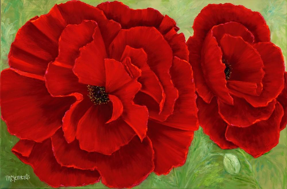 Scarlet Dreams Art | Marsha Clements Art