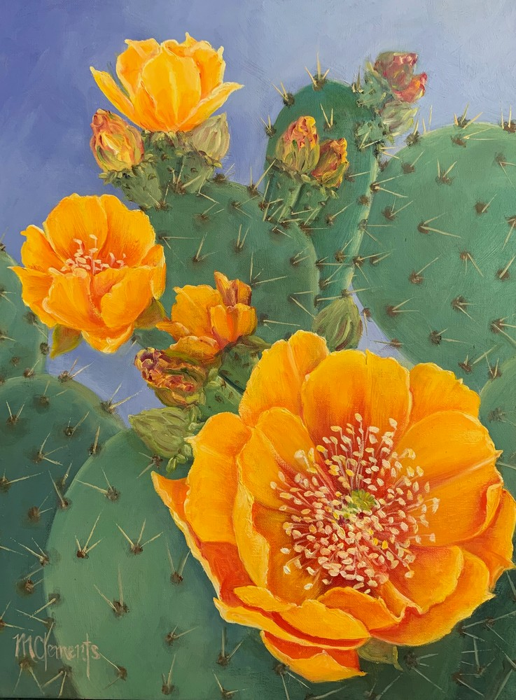 Palo Duro Gold Art   Marsha Clements Art