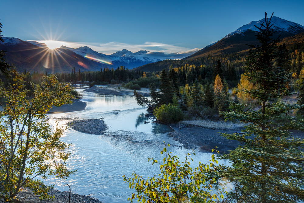 Eagle River Sunrise