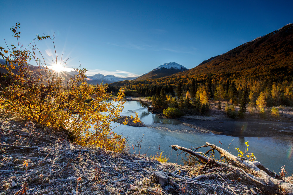 Eagle River Crispy Fall Morn